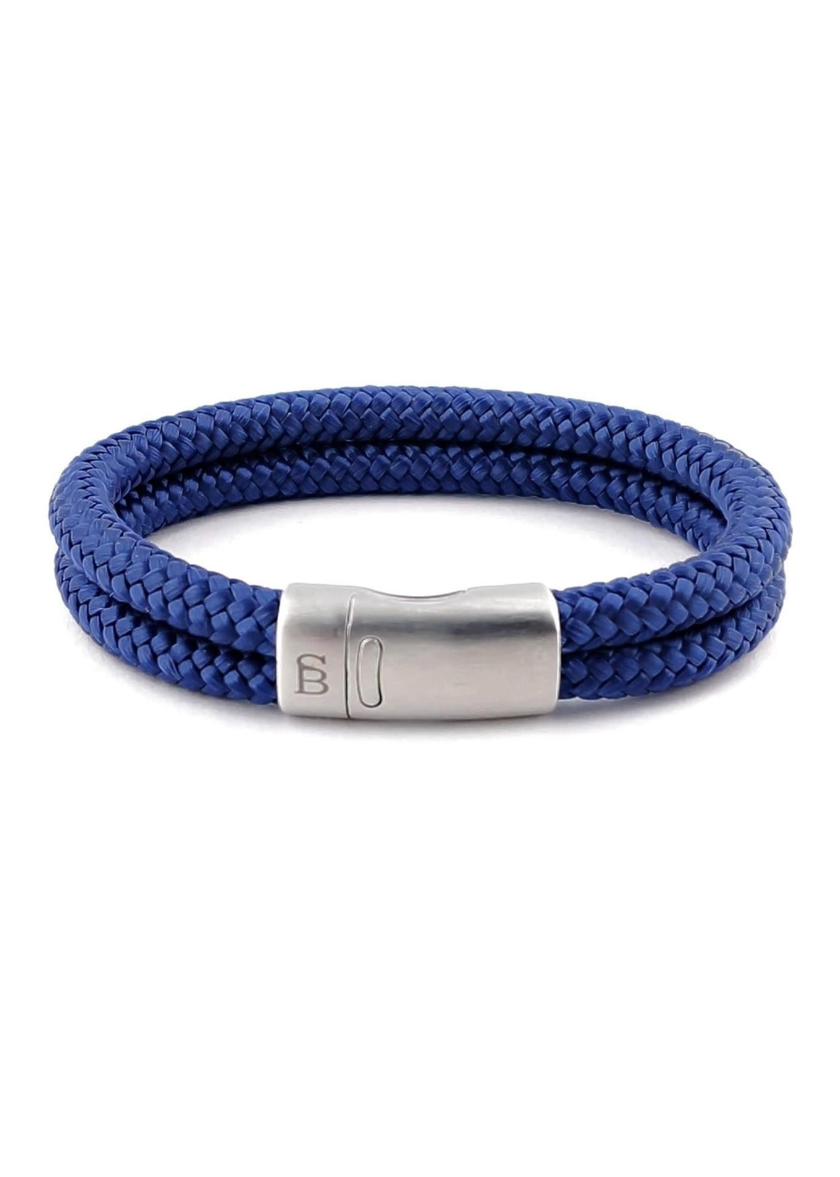 Steel & Barnett Bracelet en corde Lake | Navy | Steel&Barnett