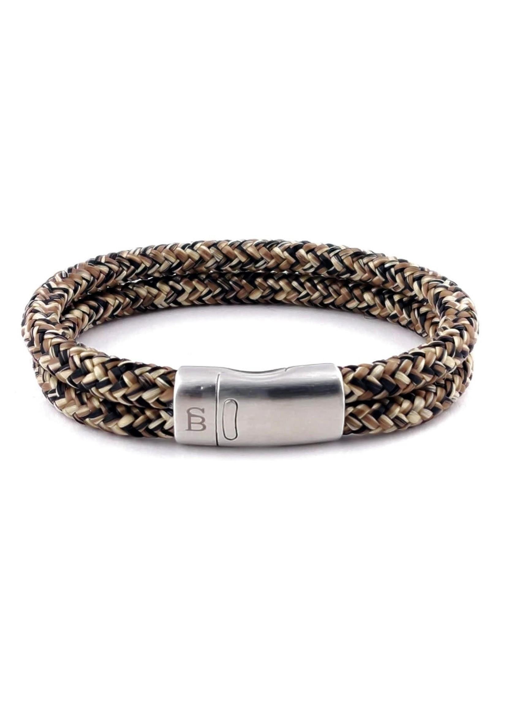 Steel & Barnett Rope Bracelet Lake | Rusty | Steel&Barnett