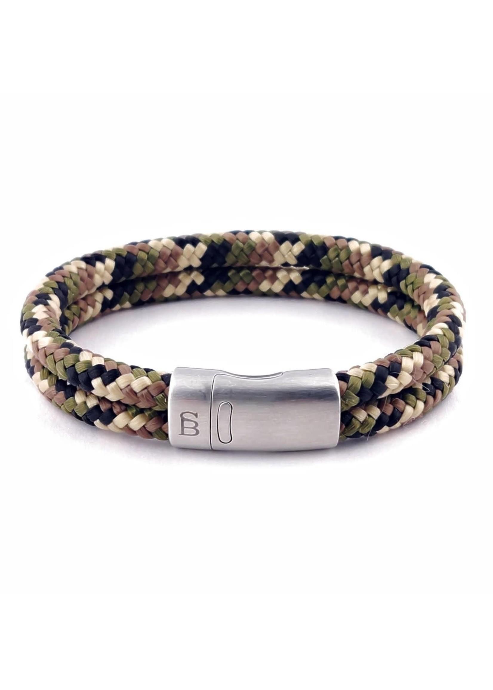 Steel & Barnett Bracelet en corde Lake | Camouflage | Steel&Barnett