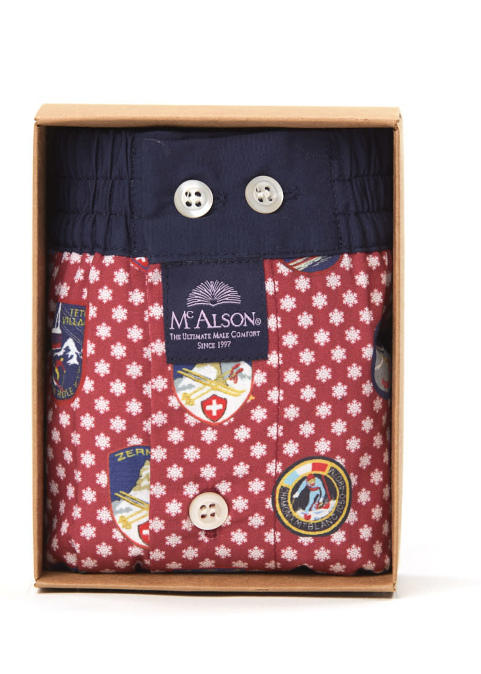 Mc Alson M4041 - Country patch red