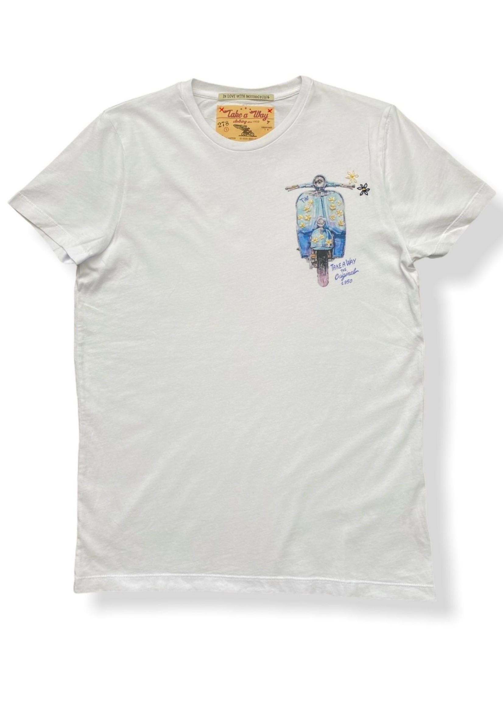 Take A Way T-Shirt Dolce Vita | Wit | Take a Way