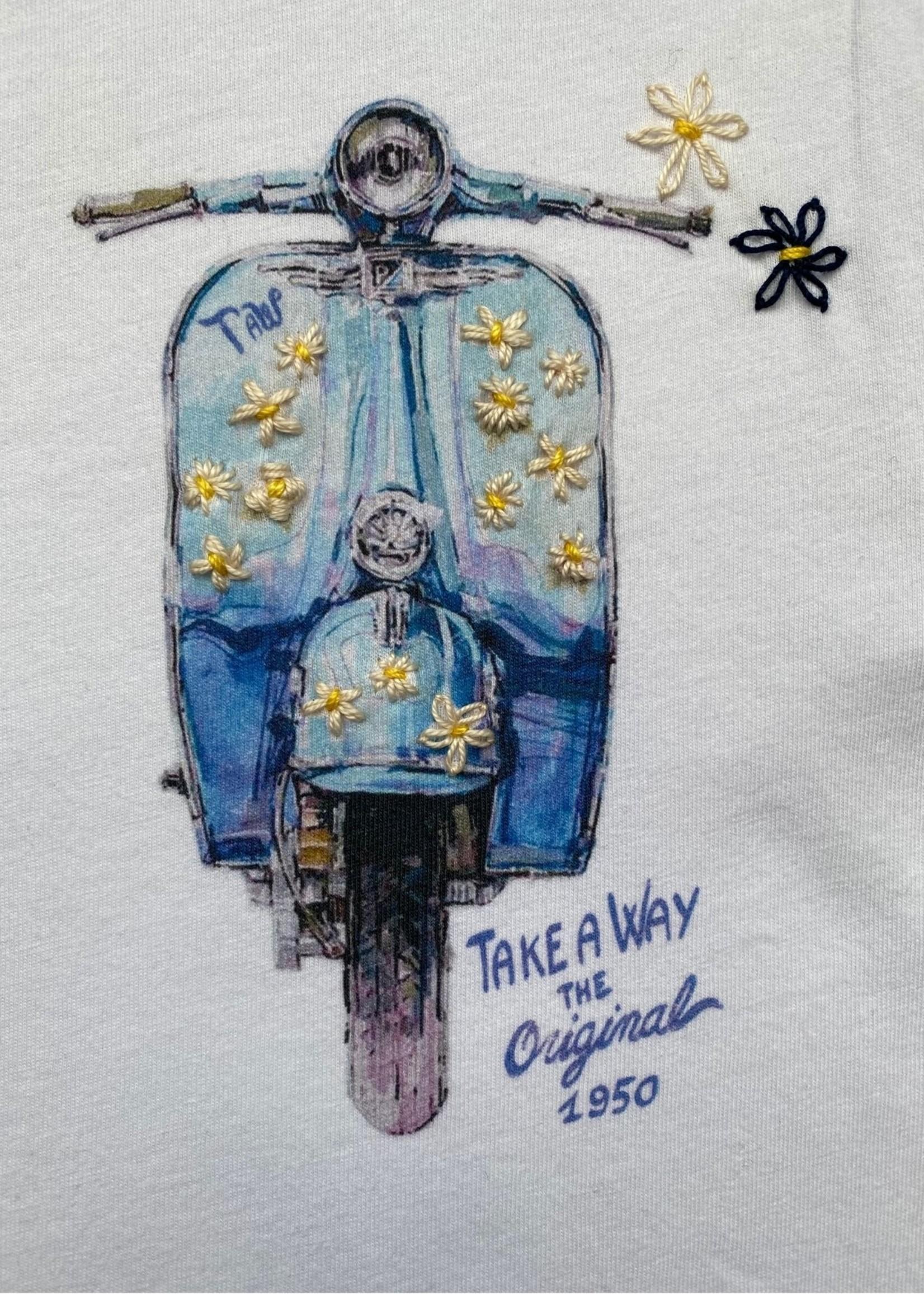Take A Way T-Shirt Dolce Vita | White | Take a Way
