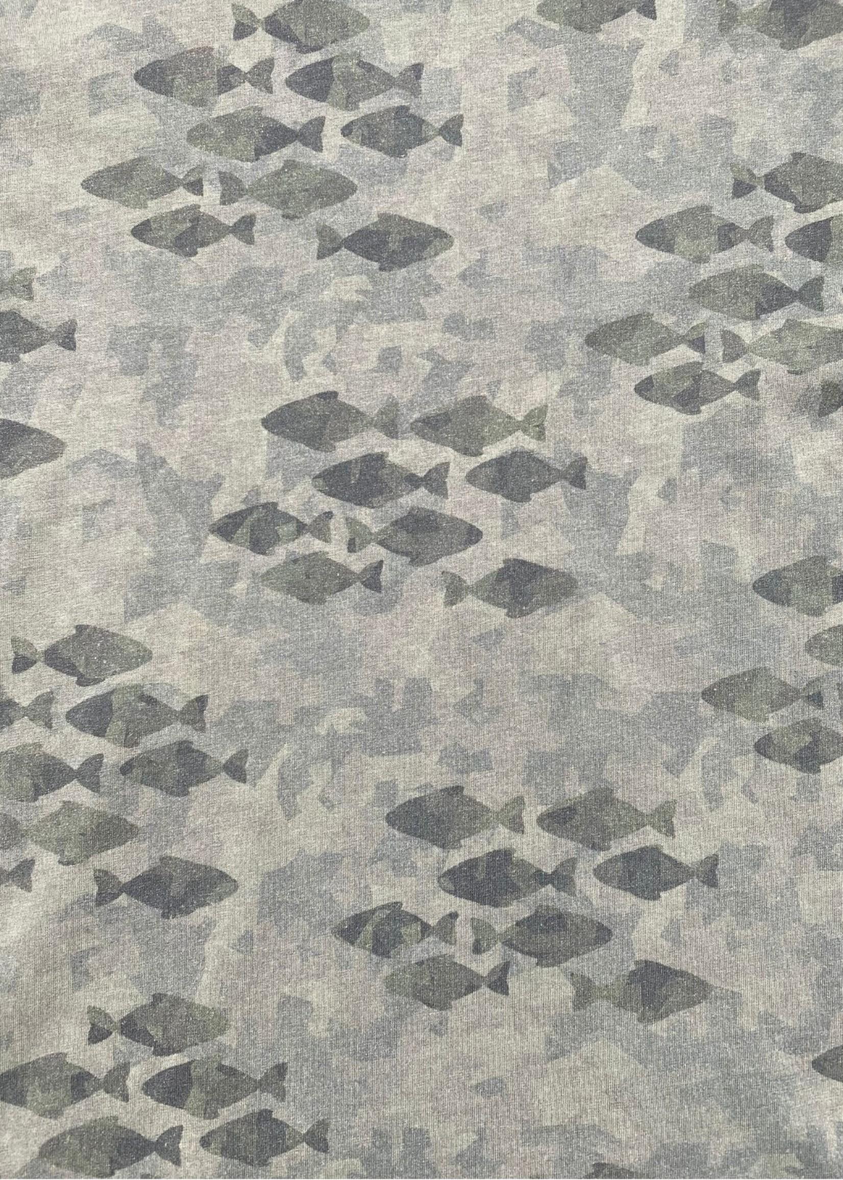 Take A Way T-Shirt Military Fishes | Legergroen | Take a Way