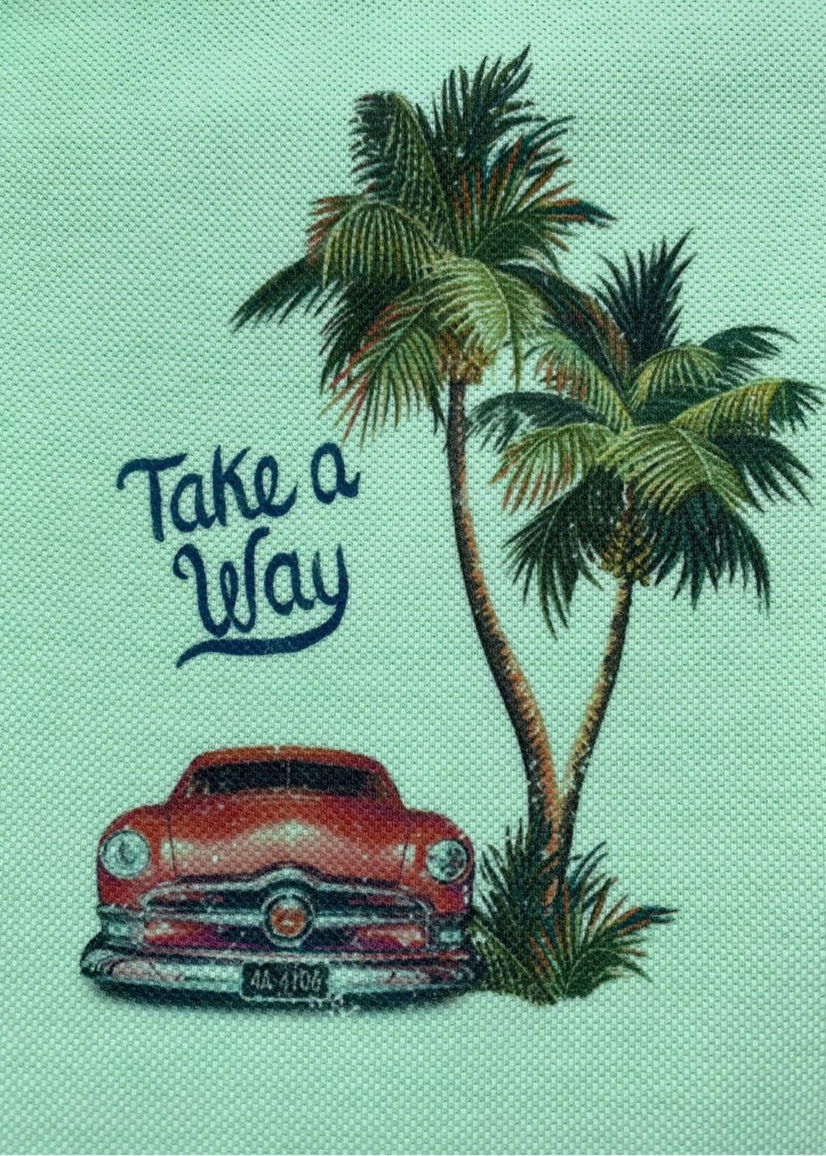 Take A Way Polo Santiago | Groen | Take a Way