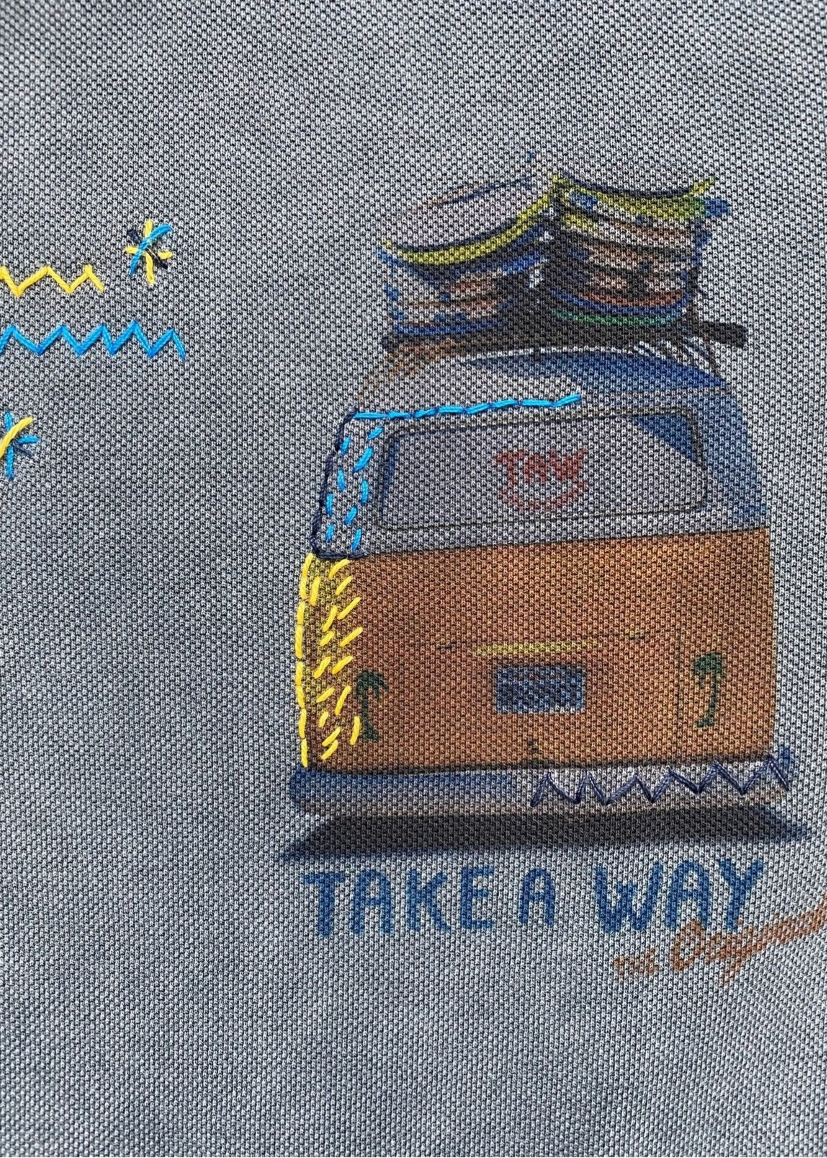 Take A Way Polo Wagen l Grey   Take a Way