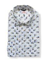 SUN68 Overhemd met bloemenprint