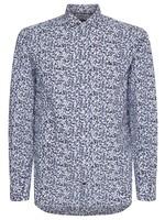 Tommy Hilfiger Large Floral Print Slim Shirt