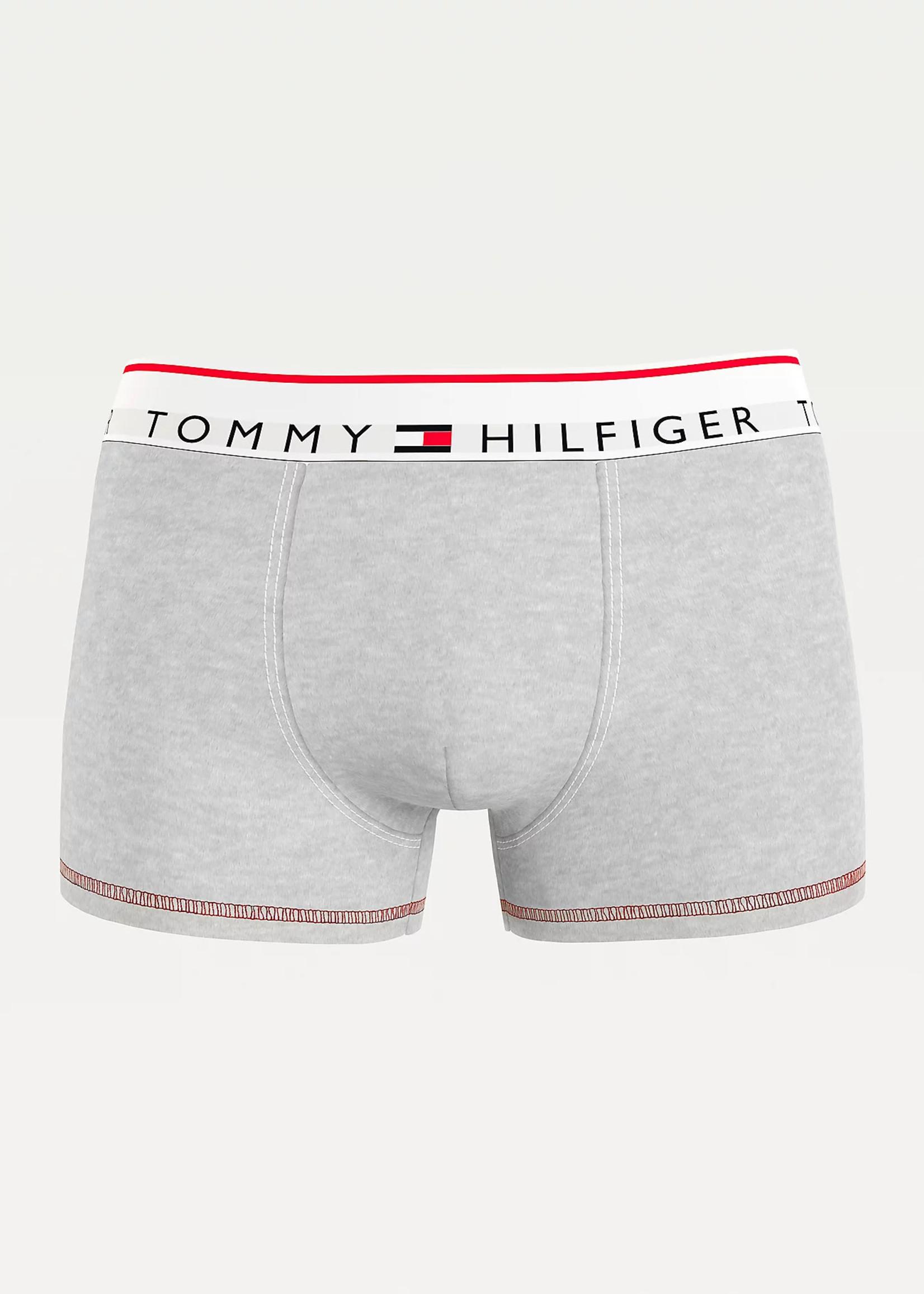 Tommy Hilfiger Boxershort met logotaille   Grijs   Tommy Hilfiger