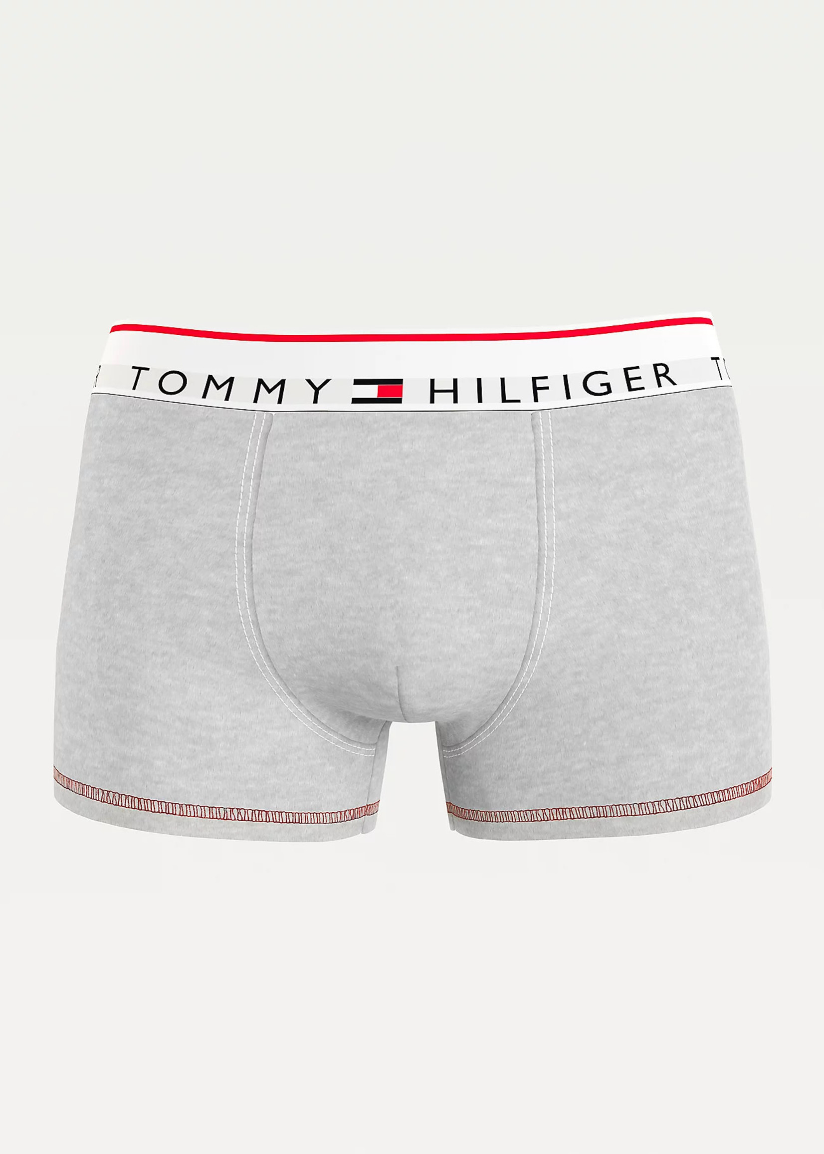 Tommy Hilfiger Logo Waistband Trunks | Grey | Tommy Hilfiger