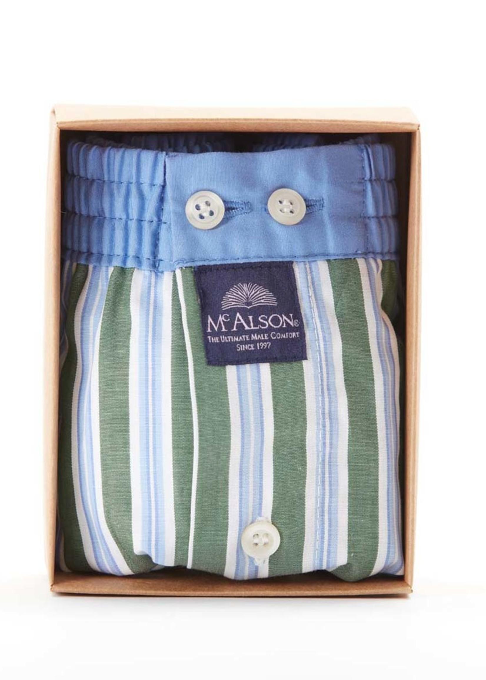 Mc Alson M4422 - Striped green & blue