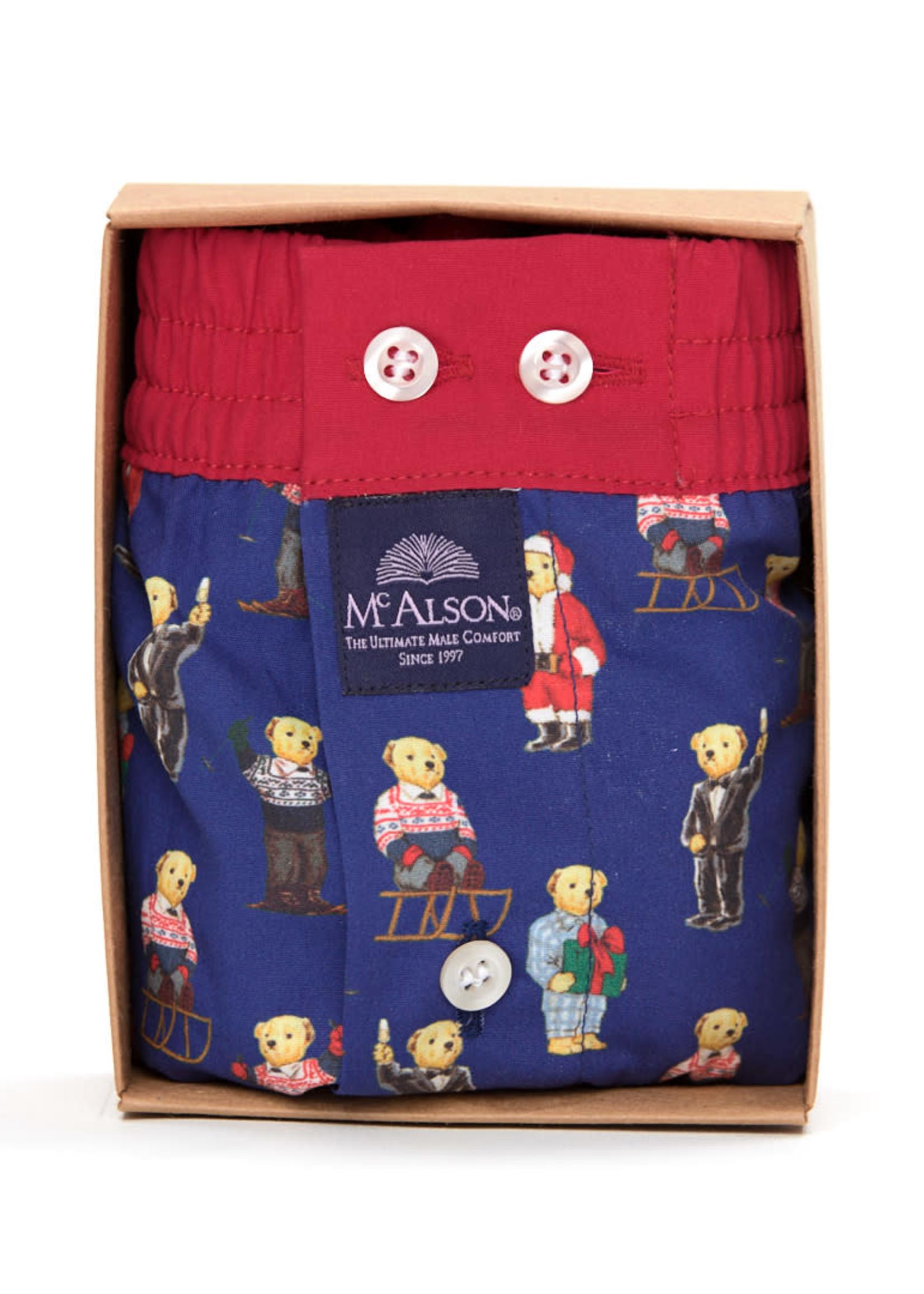Mc Alson M3867 - Teddy bear blue