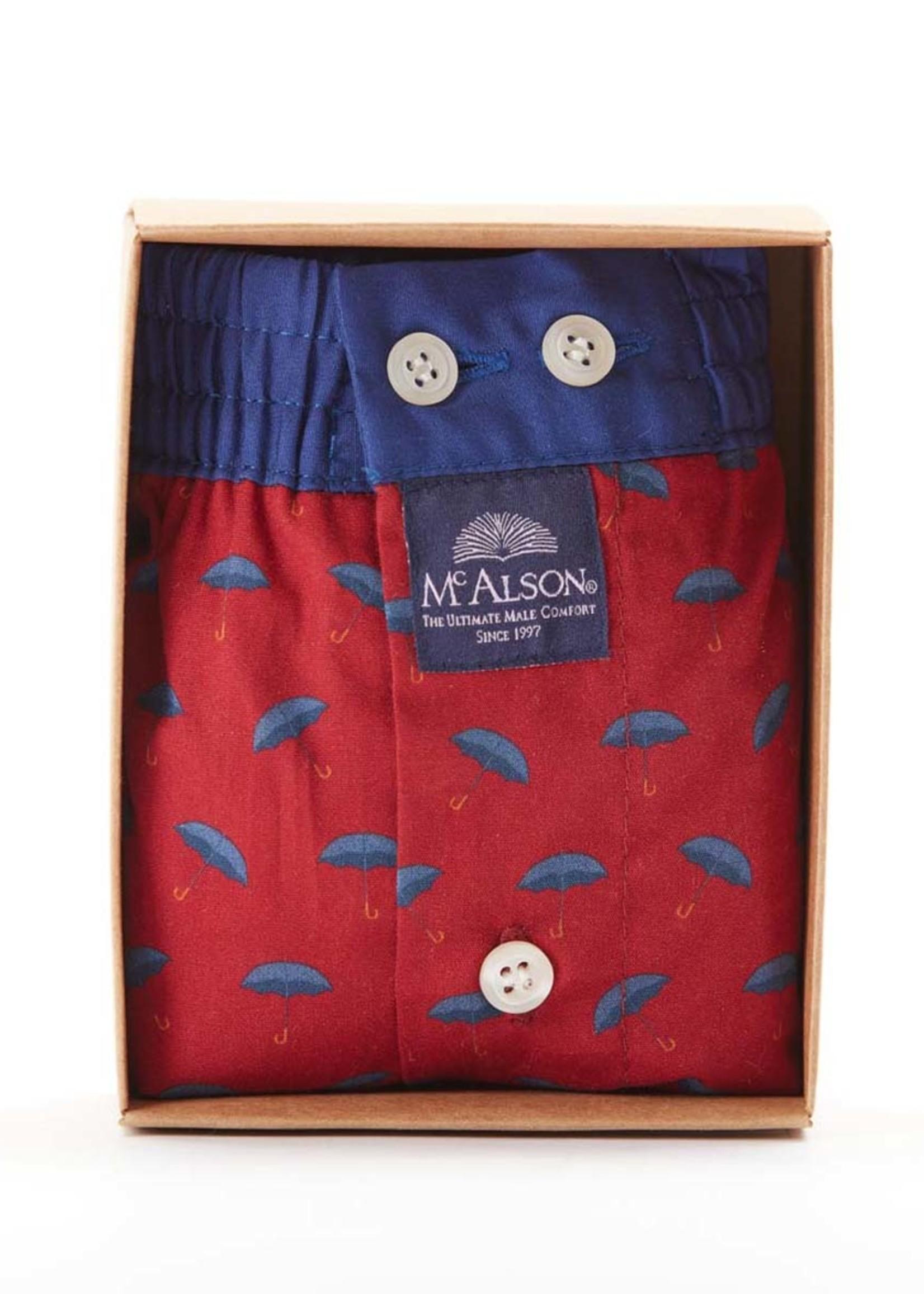Mc Alson M4475 - Umbrella red