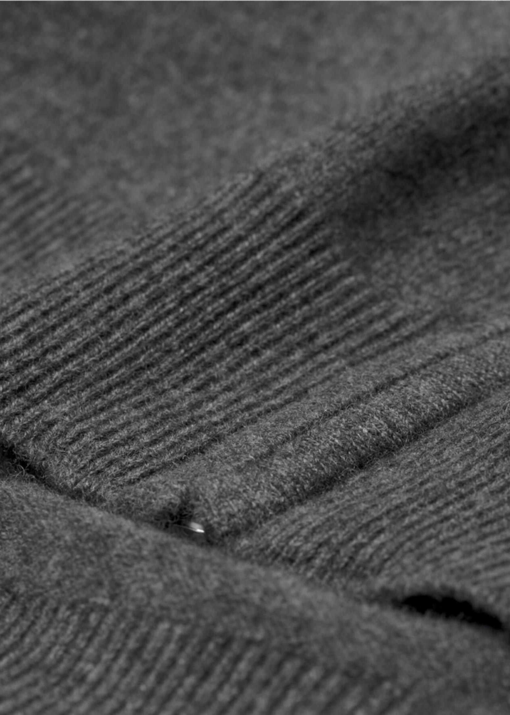 GANT Vest met ritssluiting van buitengewoon zachte lamswol