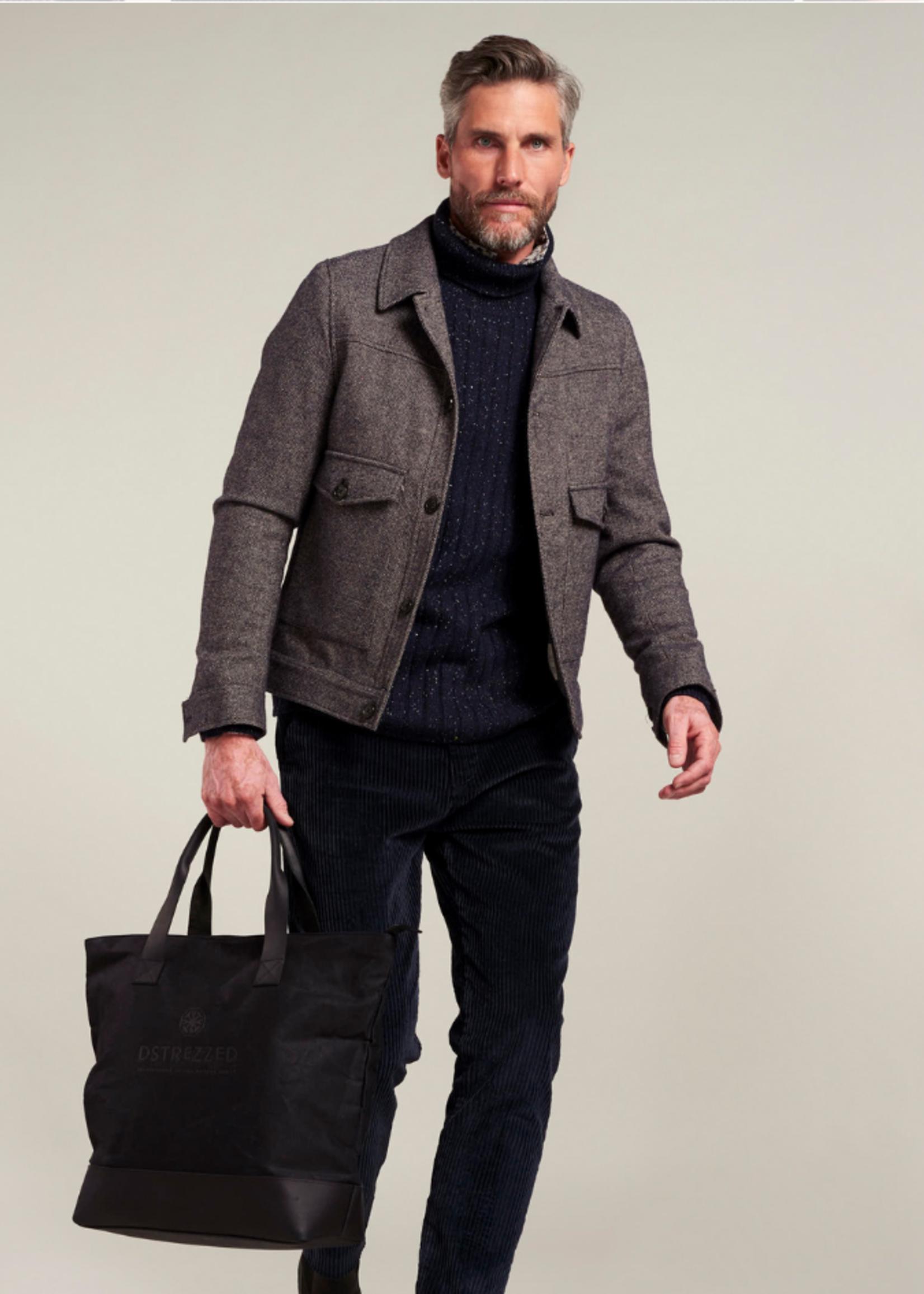 Dstrezzed Trucker Jacket Wool Tweed
