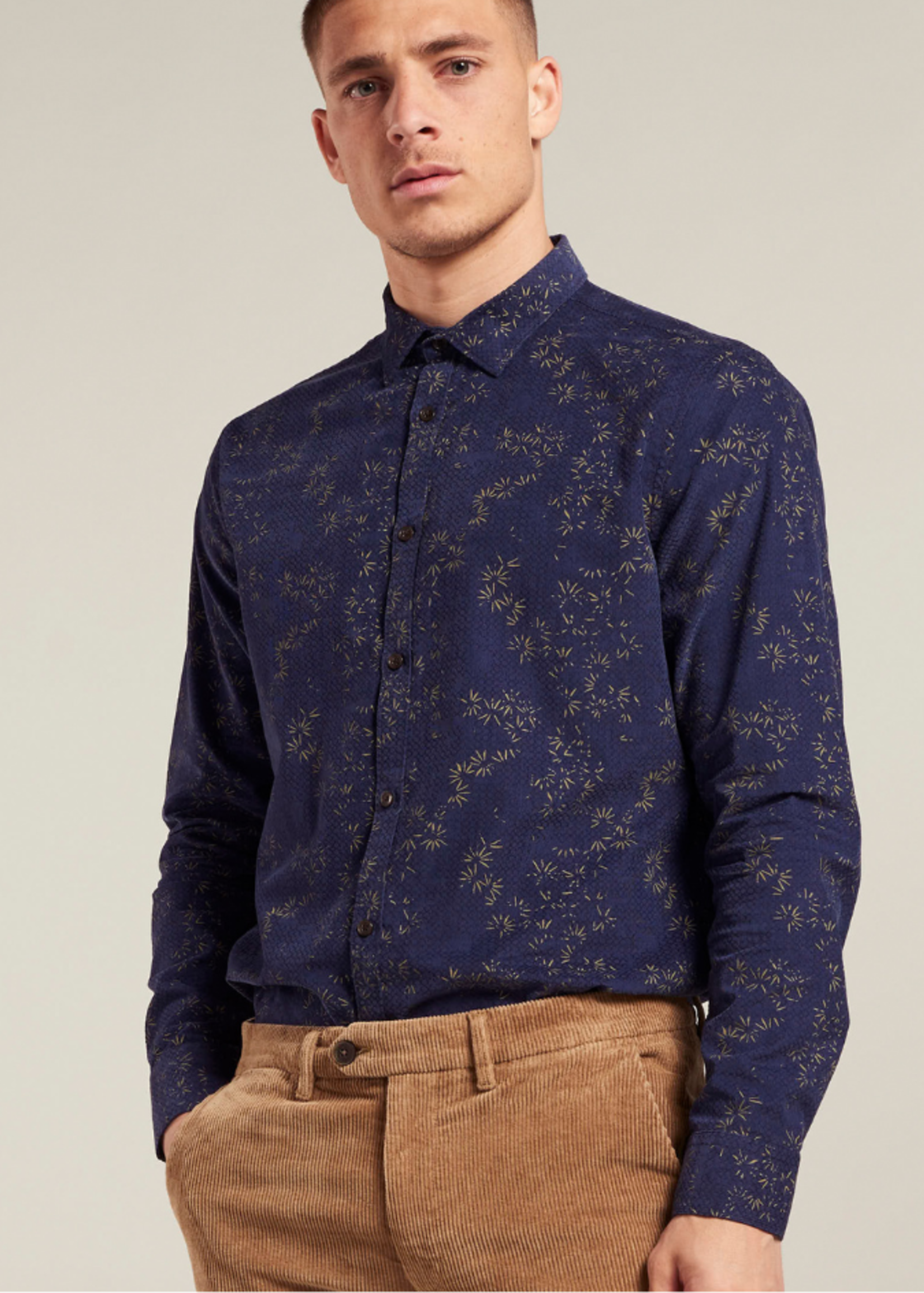 Dstrezzed Ribbed shirt with print
