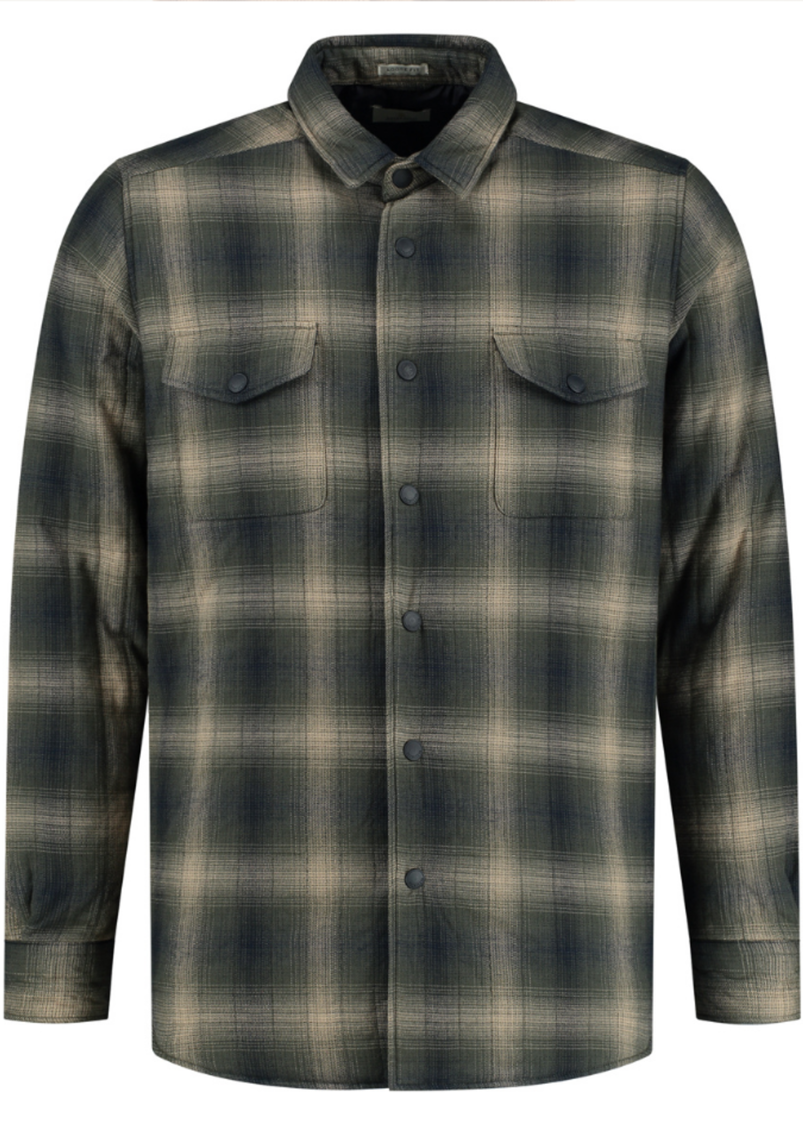 Dstrezzed Shirt Jacket Shadow Check