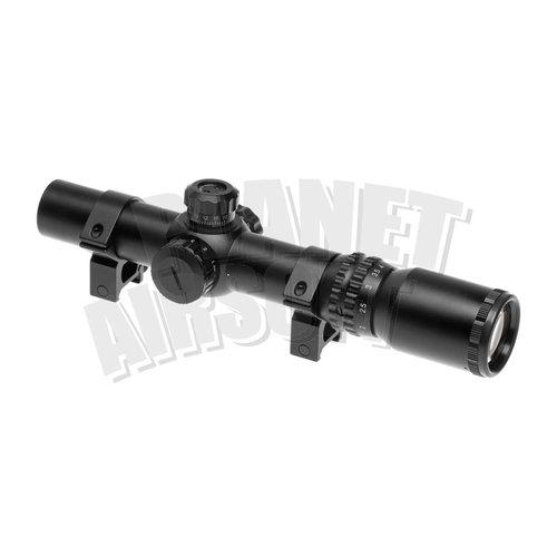 Element Aim-O/Element 1-4x24 SE Tactical Scope : Zwart