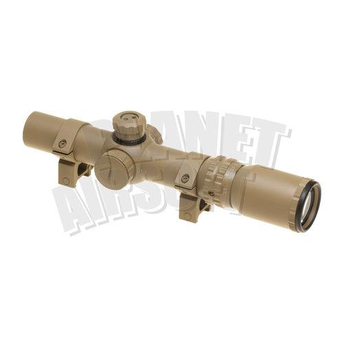 Element Aim-O/Element 1-4x24 SE Tactical Scope : Desert