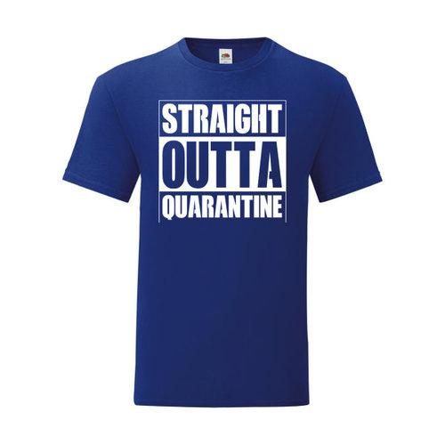P.A.C. Funding Actie T-shirt Quarantine :  Navy