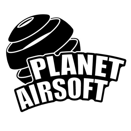 P.A.C. Funding Actie T-shirt Planet Airsoft :  Zwart