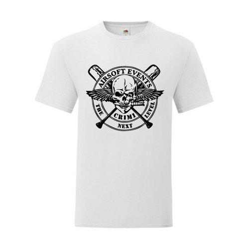 P.A.C. Funding Actie T-shirt Crimi Events :  Wit