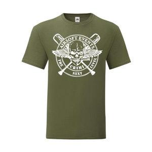 P.A.C. Funding Actie T-shirt Crimi Events :  Olive Drap