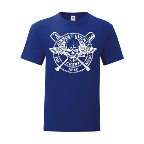 P.A.C. Funding Actie T-shirt Crimi Events :  Cobalt