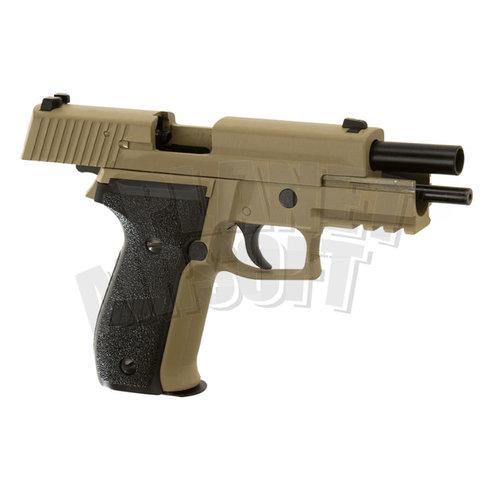 WE WE P226 Mk25 Navy Seals Full Metal GBB : Desert