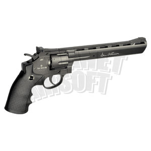 ASG 8 Inch Revolver Full Metal Co2 Low Power