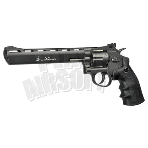 ASG ASG 8 Inch Revolver Full Metal Co2 Low Power