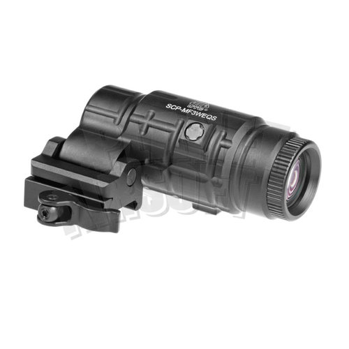 Leapers / UTG Leapers/UTG 3x Flip-to-Side QD Magnifier Adjustable TS