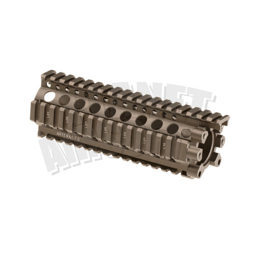 Madbull Madbull Daniel Defense 7 Inch Lite Rail : Dark Earth