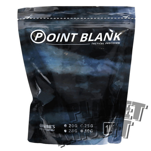Point Blank Point Blank 0.25 BB's