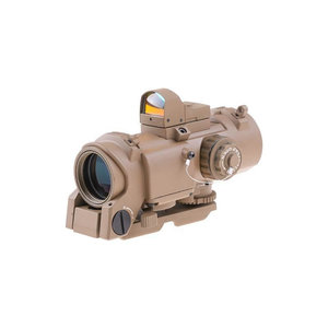 Theta Optics Theta Optics 4x32E Scope with Micro Red Dot Sight