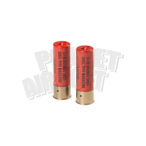 Tokyo Marui Shotgun Shells 2pcs 30rds ( Red )