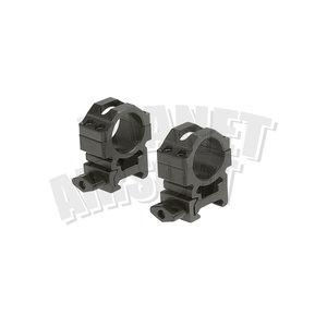 Leapers / UTG 25.4mm CNC Mount Rings Medium
