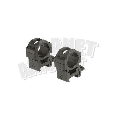 Leapers / UTG Leapers/UTG 25.4mm CNC Mount Rings Medium