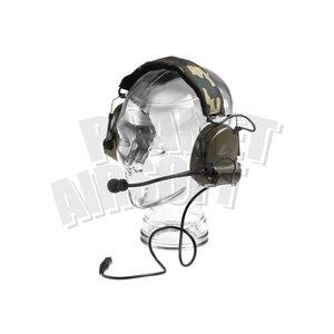 Z-Tactical Comtac II Headset Military Standard Plug : Zwart