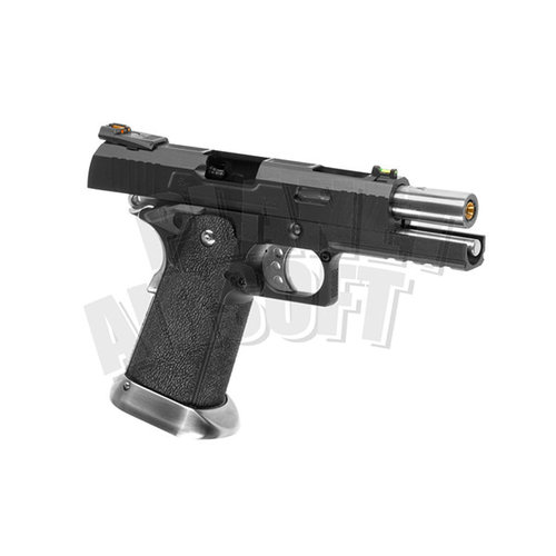 WE WE Hi-Capa 5.1 Force Full Metal GBB : Zwart