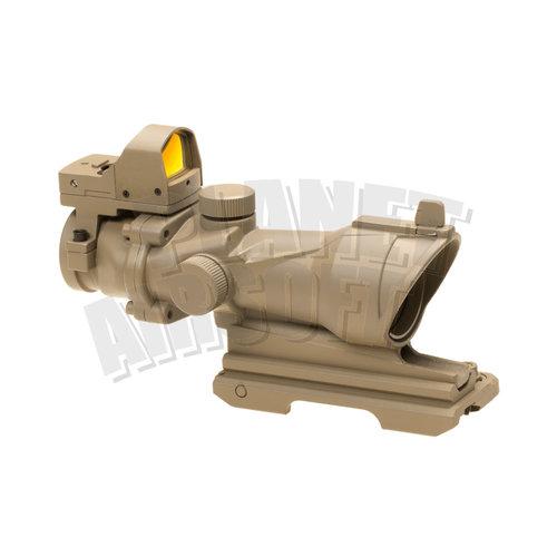 Element Aim-O/Element 4x32 QD Combo Combat Scope : Desert
