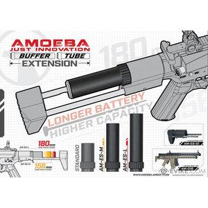 Ares / Amoeba 180mm Buffer Tube Extension for AMOEBA AM-016 AEG
