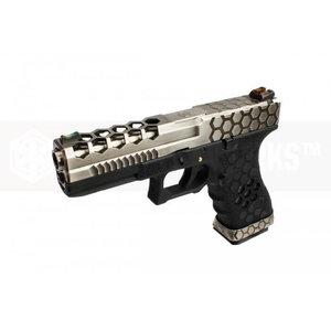 Armorer Works Armorer Works Custom Hex-Cut Black/Silver VX0100 Pistol