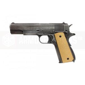 Armorer Works Custom Full Metal 'Molon Habe' M1911 NE2001 Pistol
