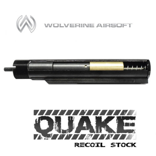 Wolverine Wolverine Airsoft: Quake Recoil Stock - M4