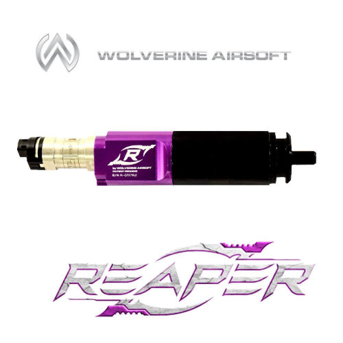 Wolverine Wolverine Reaper : hpa_gun_type - M249, hpa_electonics - Electromechanical (No FCU)