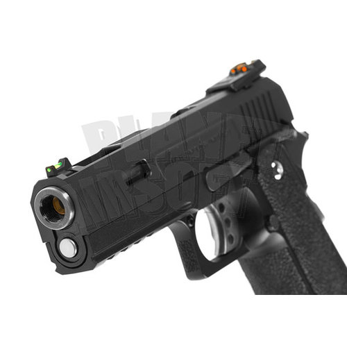 WE WE Hi-Capa 4.3 Force Full Metal GBB : Zwart