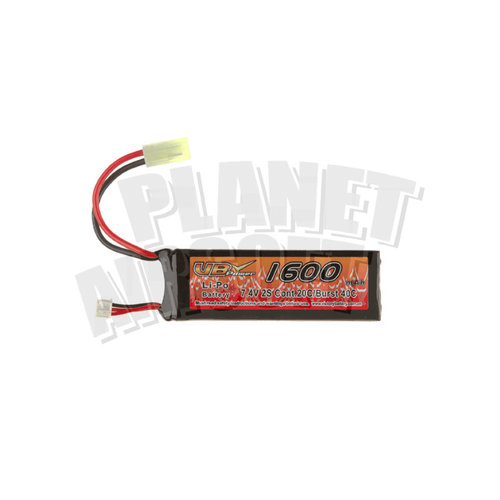 VB Power VB Power Lipo 7.4V 1600mAh 20C Mini Type