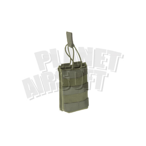 Invader Gear Invader Gear 5.56 Single Direct Action Mag Pouch : Olive Drap