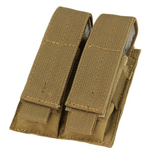 Condor Condor Pistol Double Mag Pouch : Coyote Bruin