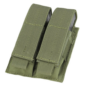 Condor Condor Pistol Double Mag Pouch : Olive Drap
